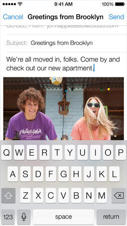 iOS7 Mail Screen