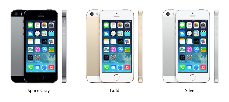 iPhone with its 3 variants