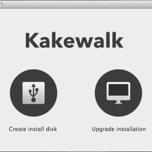 Kakewalk Lion USB Stick Mac OS X