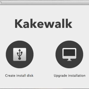Kakewalk Lion USB Stick Mac OS X
