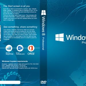 Windows 8 DVD Cover