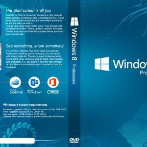 Windows 8 DVD Cover