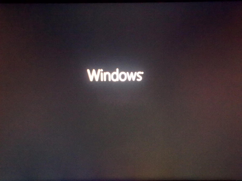 Windows 8 Installation Loading Screen