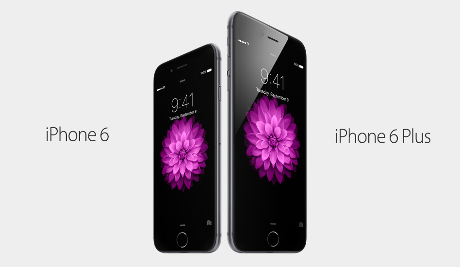 Apple 2014 Event Apple iPhone 6 and 6plus