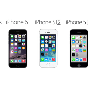 Compare Between iPhone 6 Plus vs iPhone 6 vs iPhone 5S vs iPhone 5C vs iPhone 5